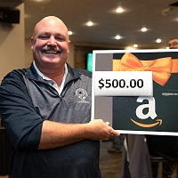 Chuck Lewis - $500 Gift Card Winner