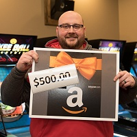 Jason Platzgraf - $500 Gift Card Winner